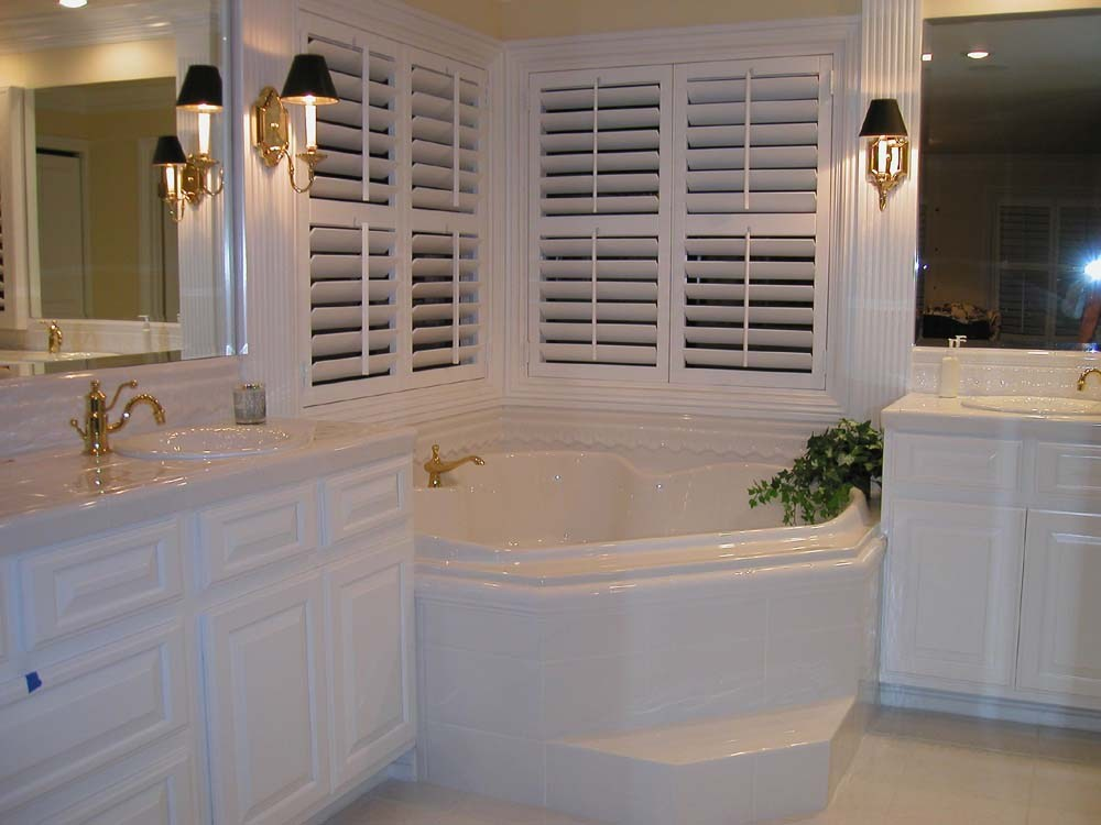 Bathroom Remodel White Cabinets