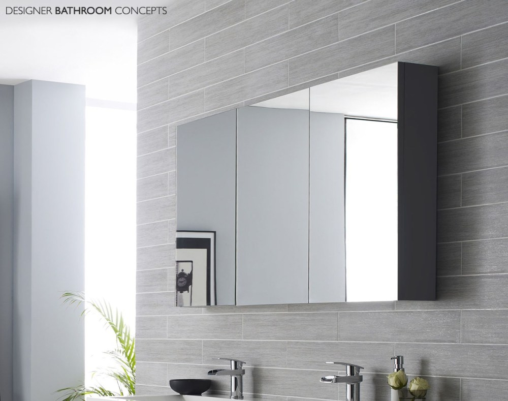 Bathroom Storage Mirror