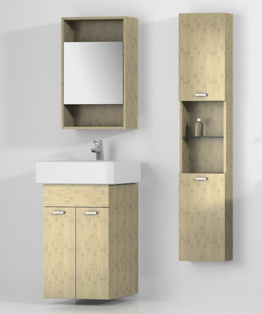 Bathroom Storage Wall Cabinet With Towel Bar