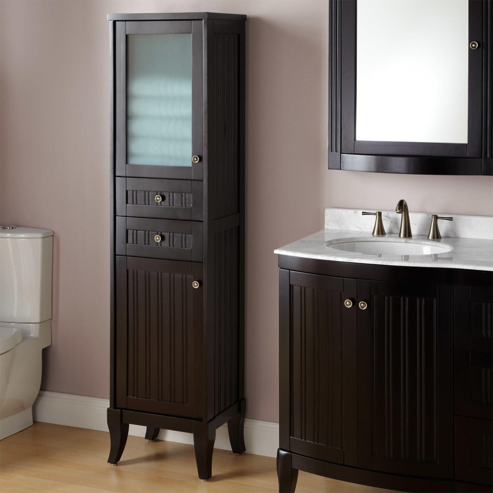 Bathroom Towel Cabinet