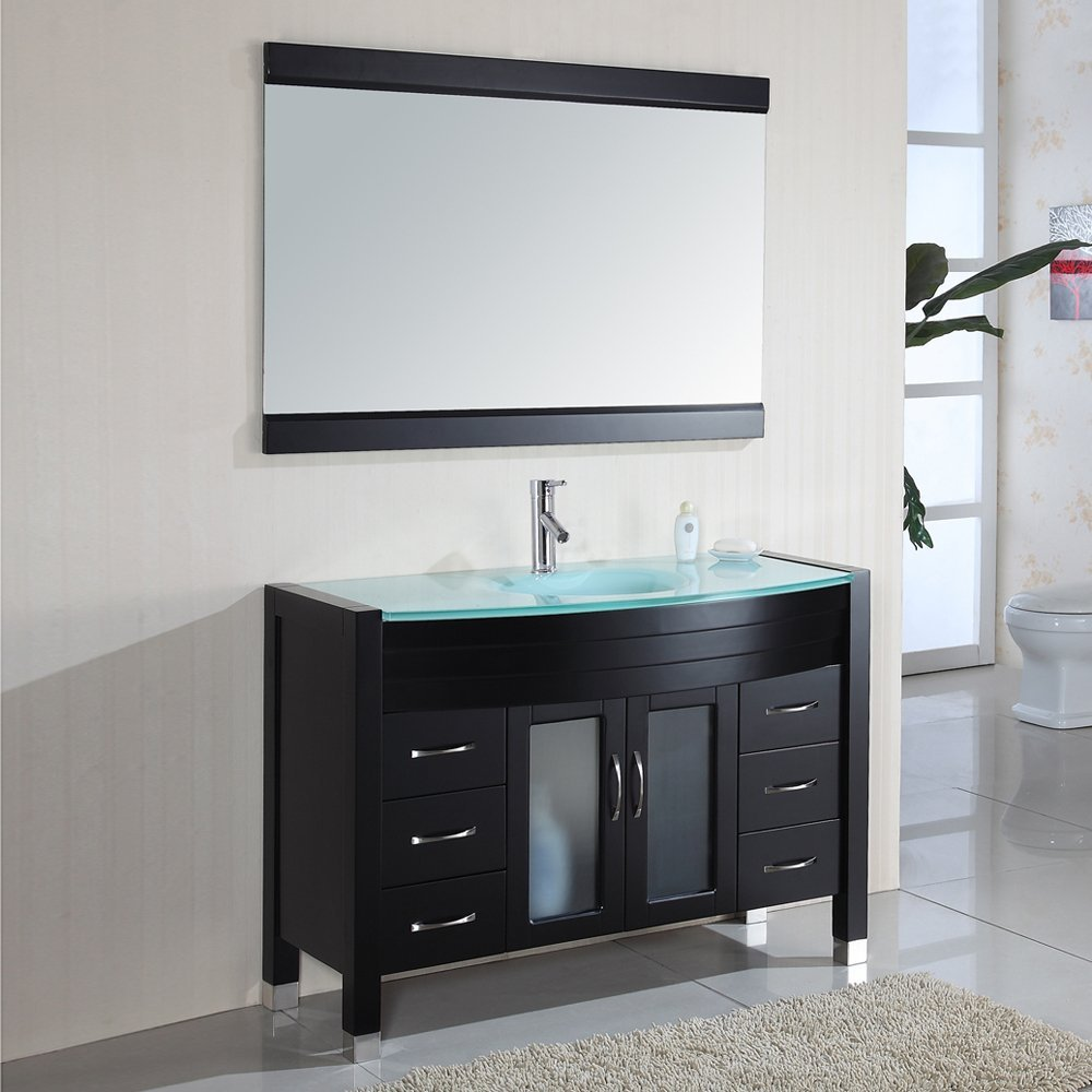 Bathroom Vanity And Mirror Set