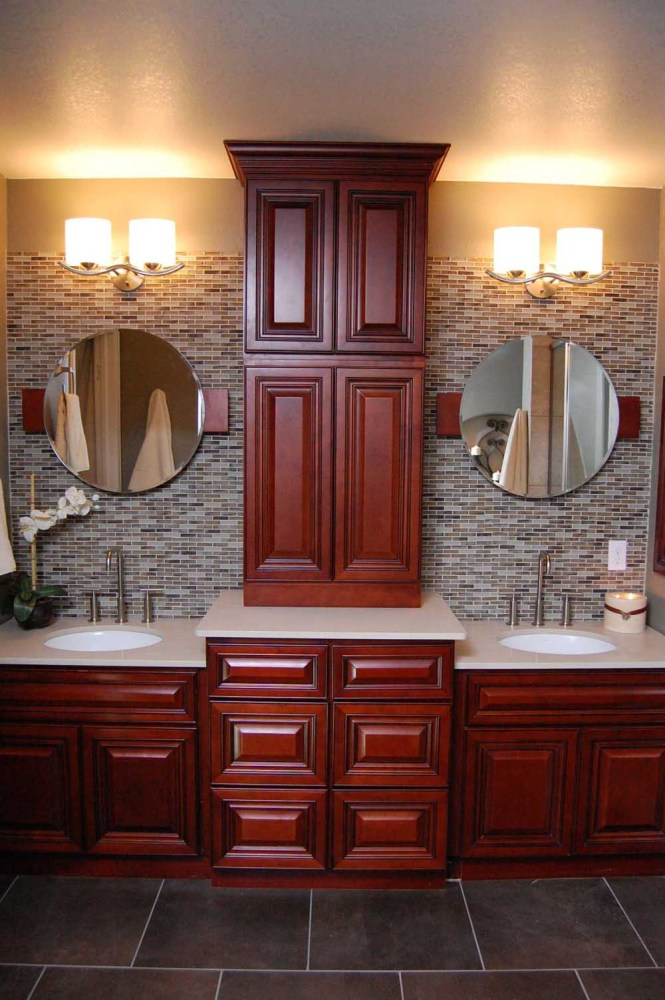 Bathroom Vanity Hutch Cabinets