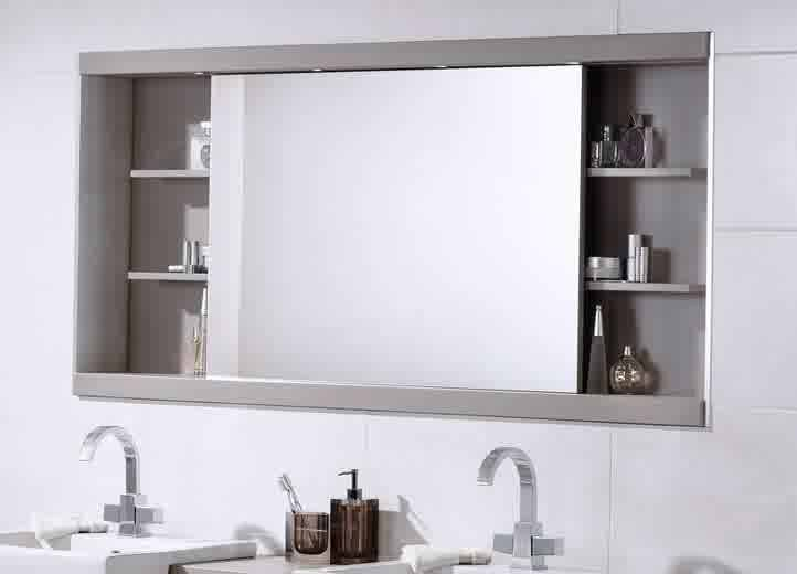 Bathroom Vanity Mirror With Shelf
