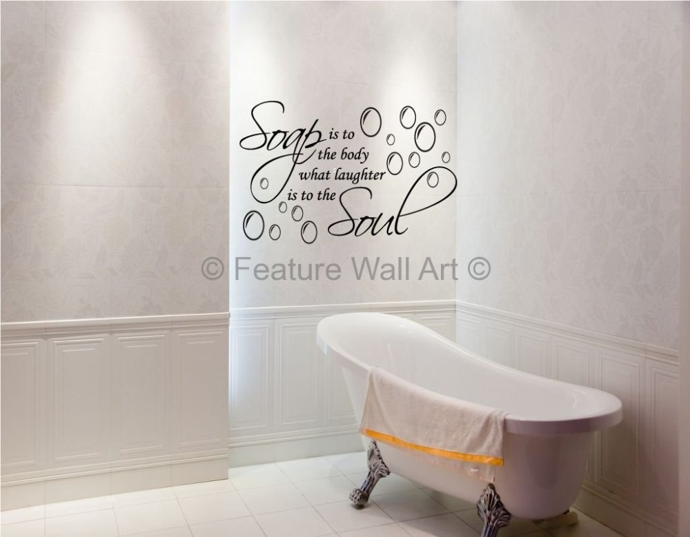 Bathroom Vinyl Wall Decals