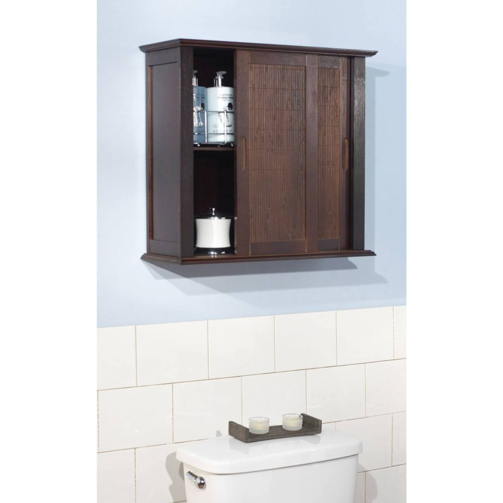 Bathroom Wall Cabinet Espresso
