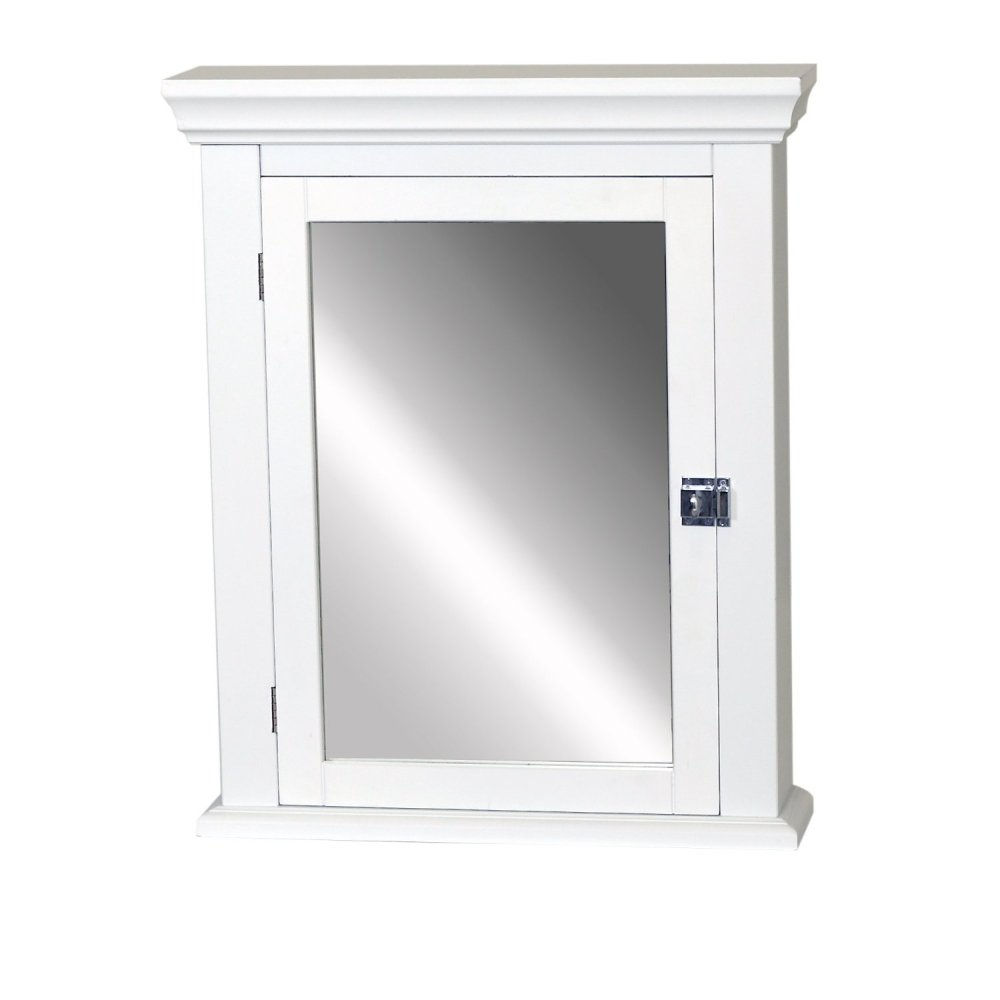 Bathroom Wall Cabinet White Wood
