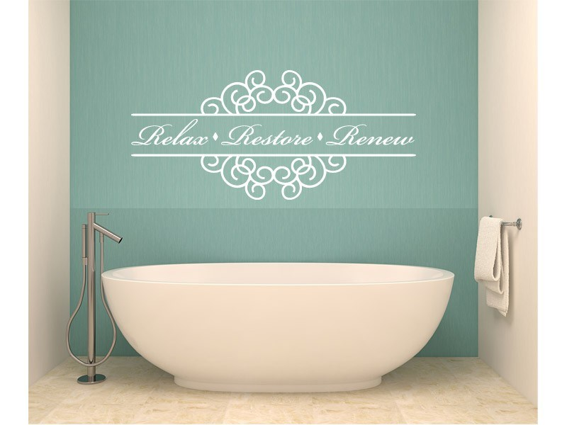 Bathroom Wall Decals Quotes
