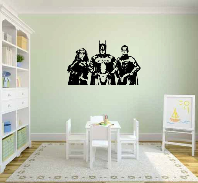 Batman And Robin Wall Decals