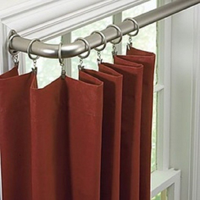Bay Window Valance Rod