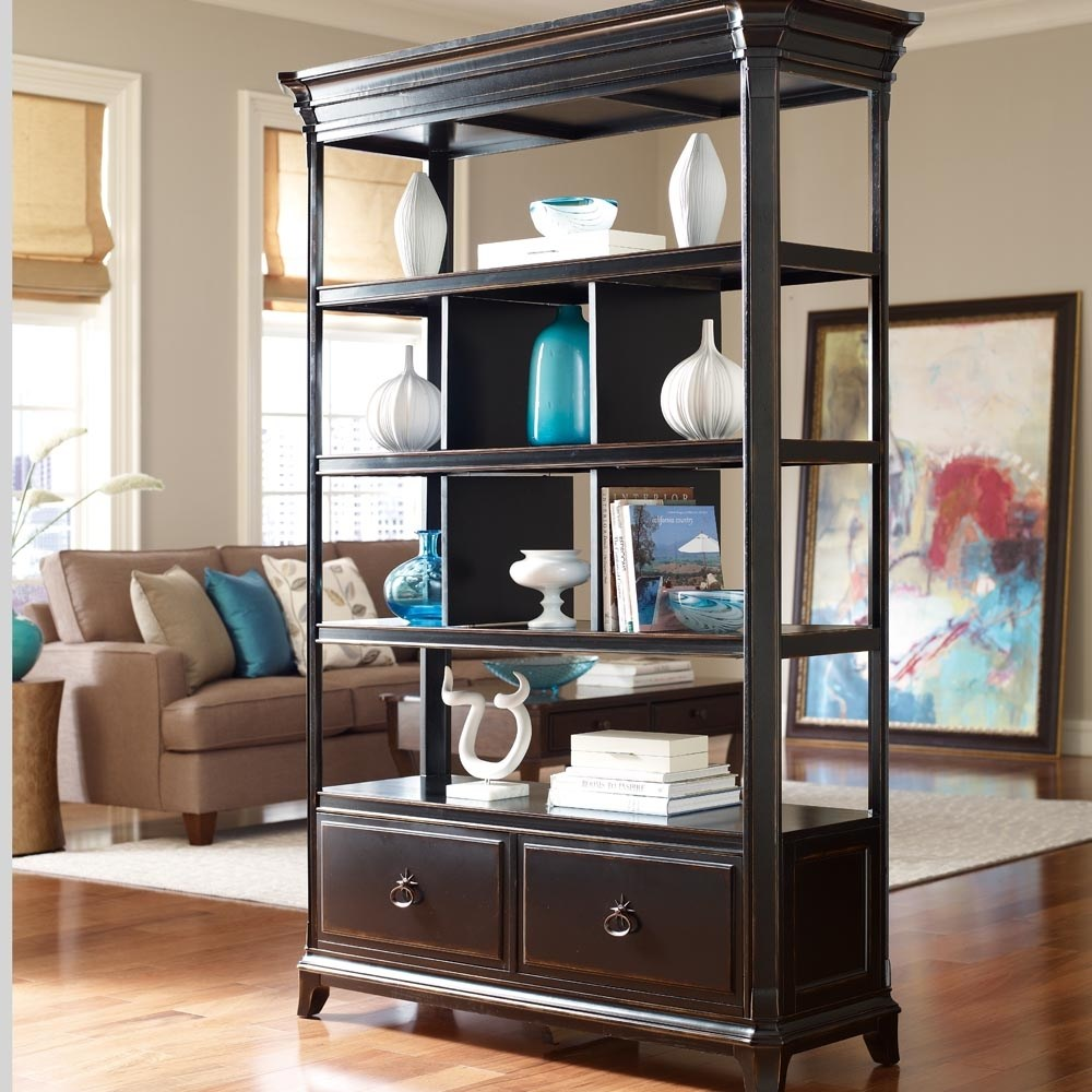 Bayside Furnishings Room Divider Bookcase