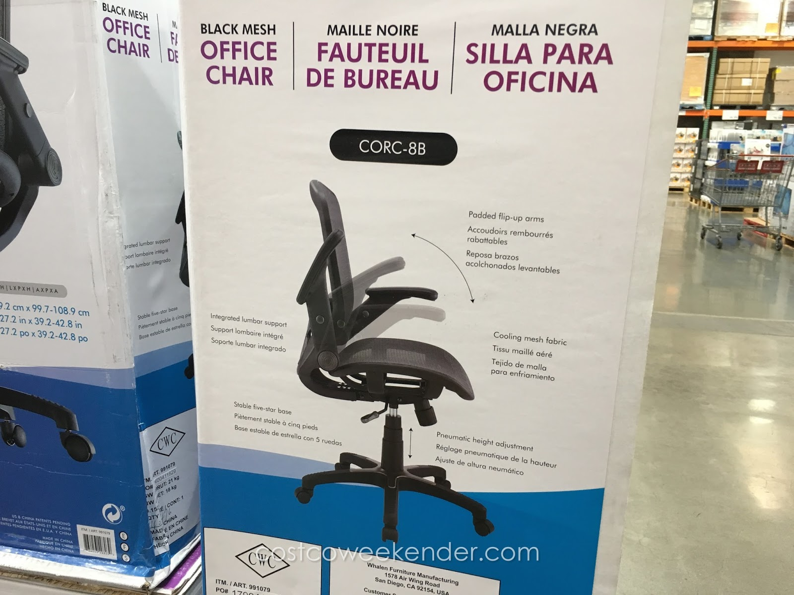 Bayside Office Chair Costco