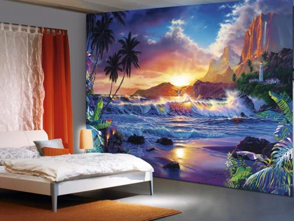 Beach Scene Wall Decals