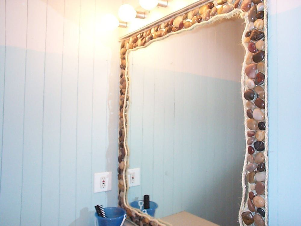 Beach Themed Bathroom Mirrors