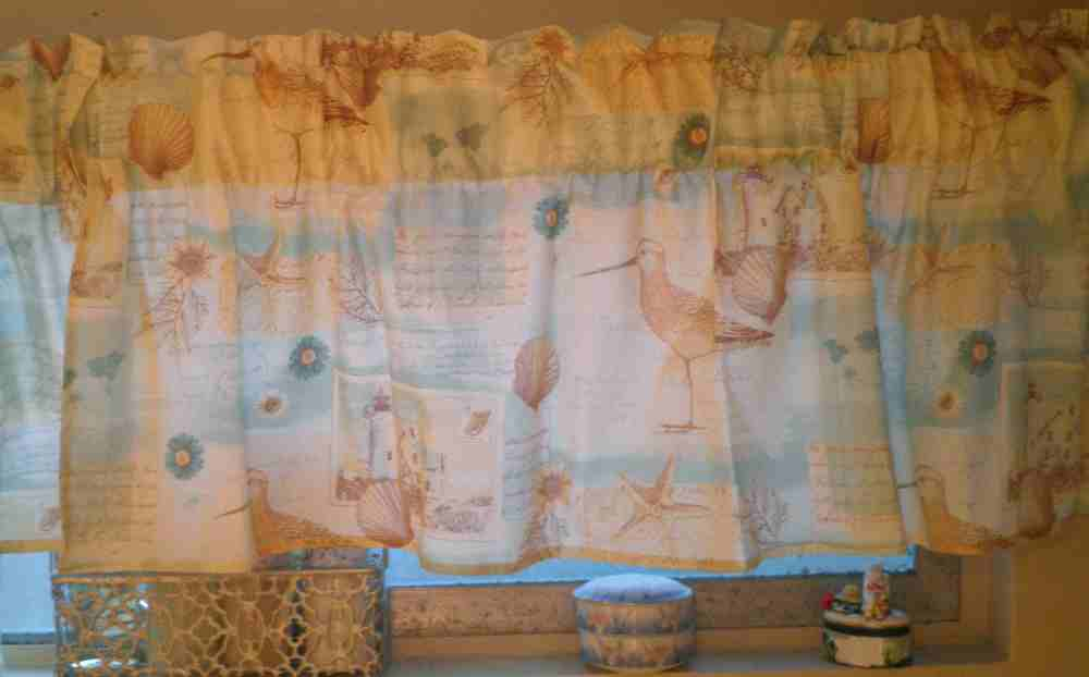 Beach Themed Valances
