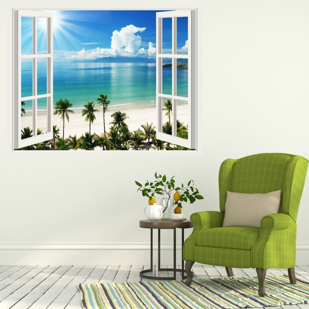 Beach Vinyl Wall Decals