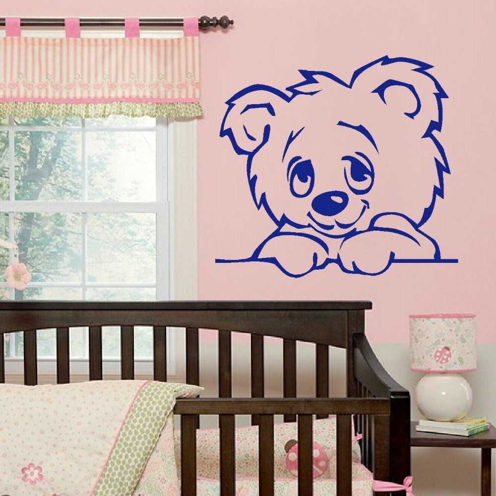 Bear Wall Decals For Nursery