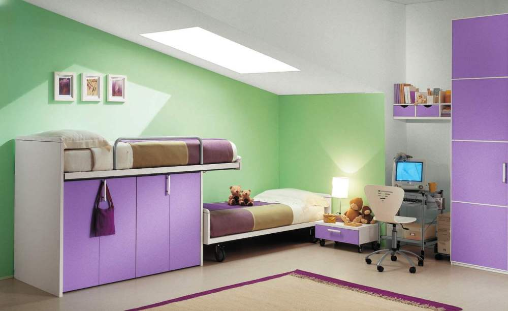 Bed For Kids Design