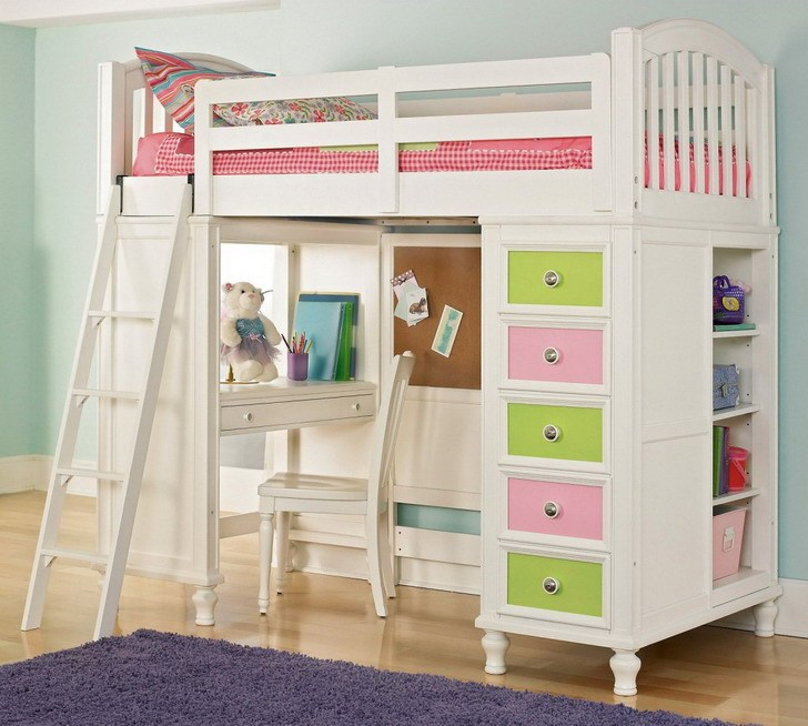 Bed For Kids With Storage