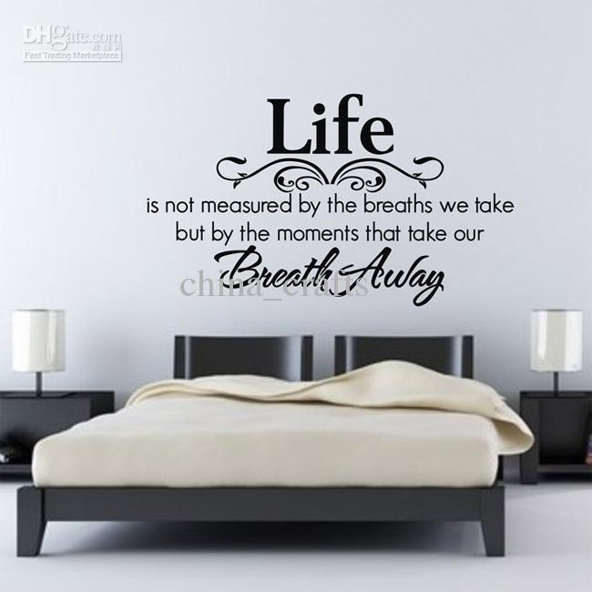 Bedroom Quotes Wall Decals