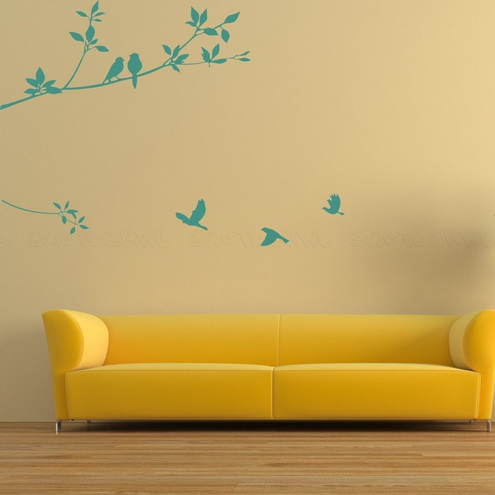 Bedroom Wall Decals Birds