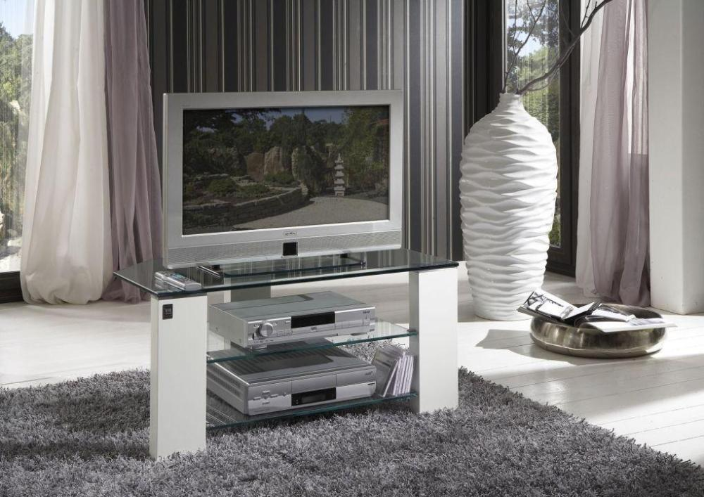 Bello Tempered Glass Tv Stand