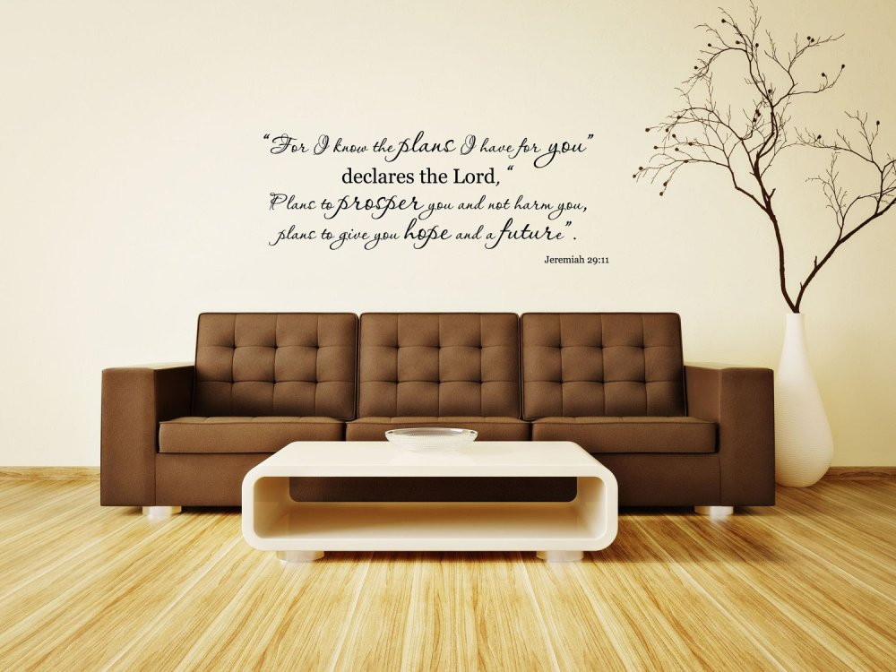 Bible Verse Wall Decals