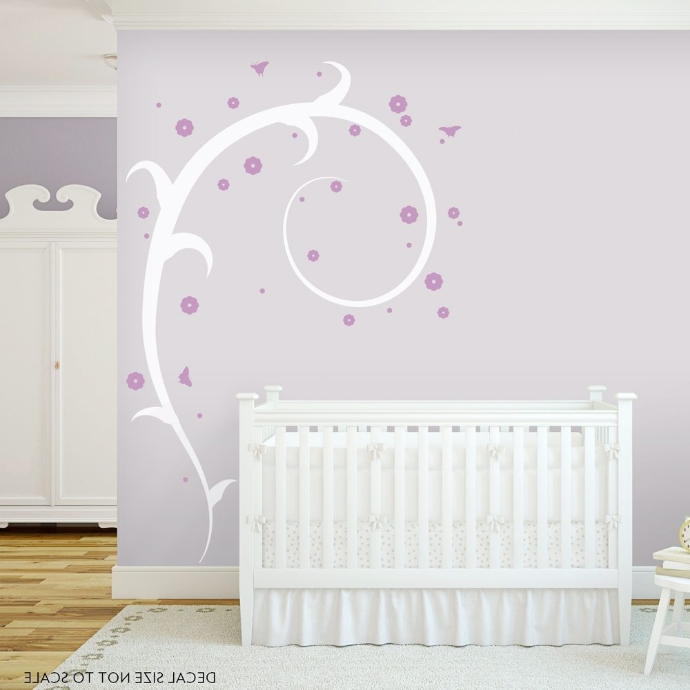 Big Flower Wall Decals