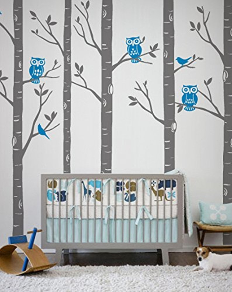 Birch Tree Vinyl Wall Decal