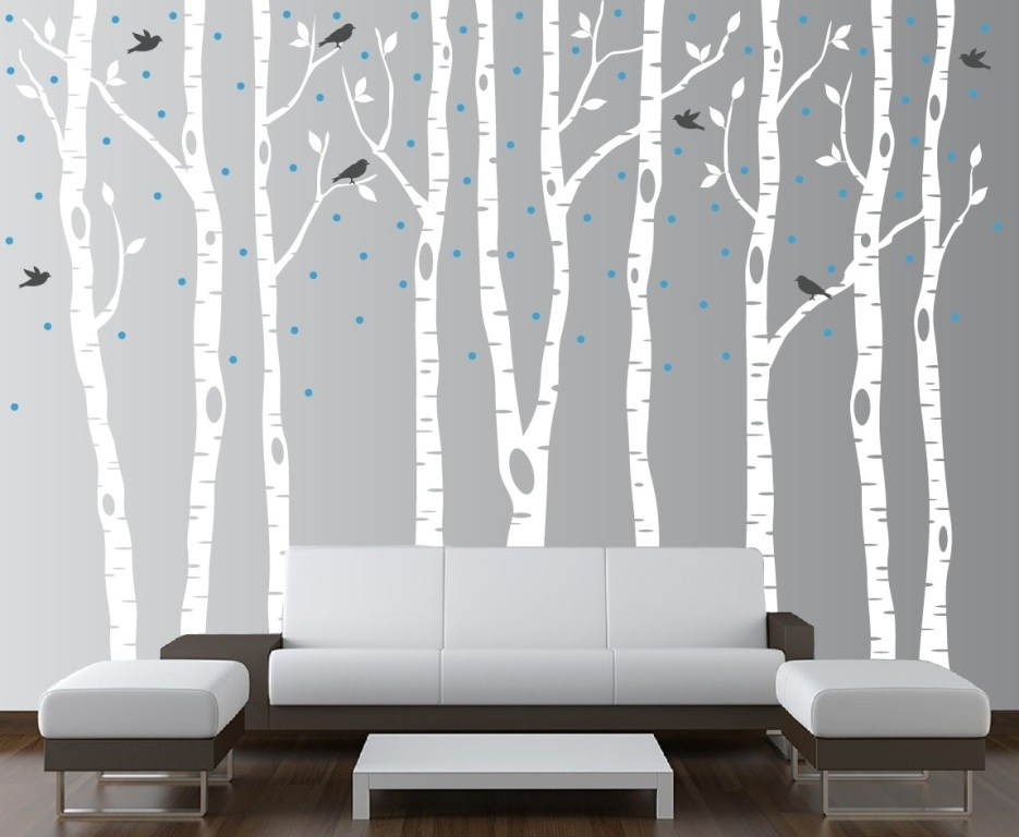 Birch Tree Wall Decal Canada