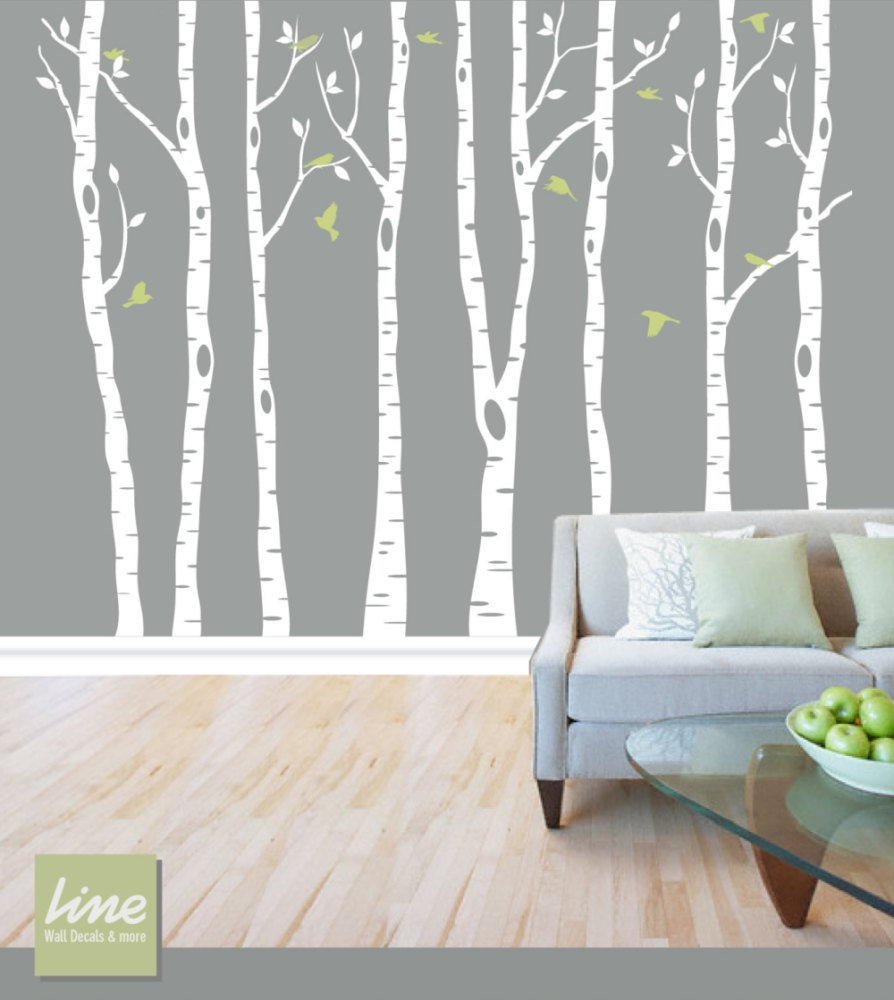 Birch Tree Wall Decals Canada