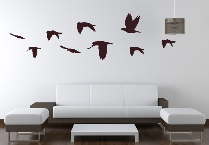 Bird Decals For Walls