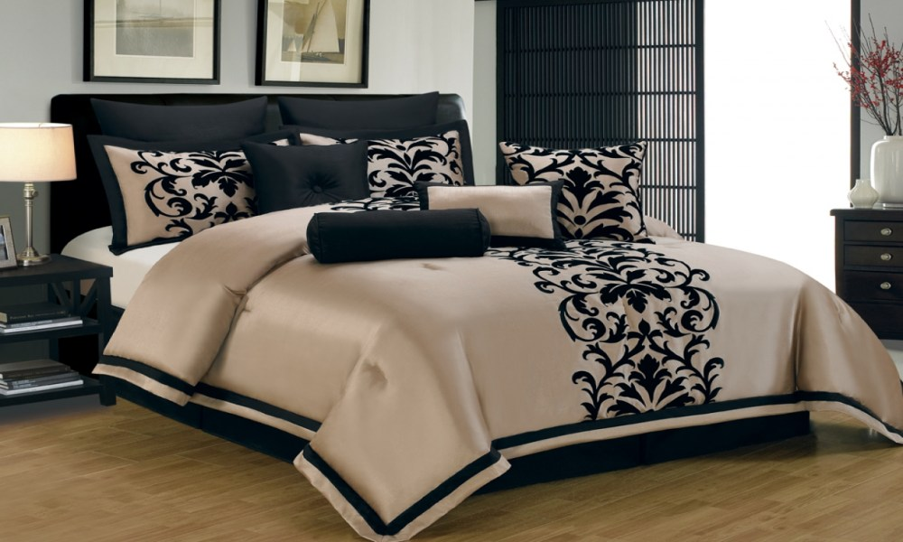 Black And Gold Comforter Sets King