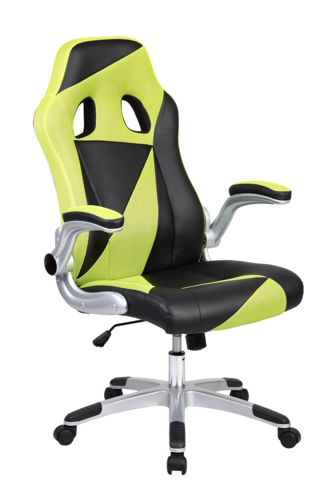 Black And Green Office Chair
