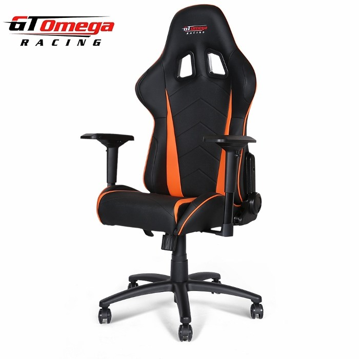 Black And Orange Office Chair