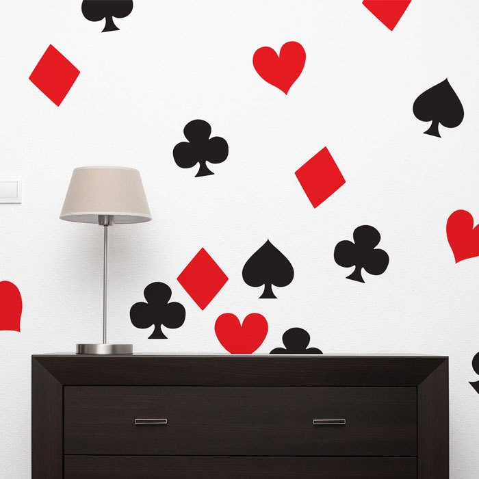 Black And Red Wall Decals