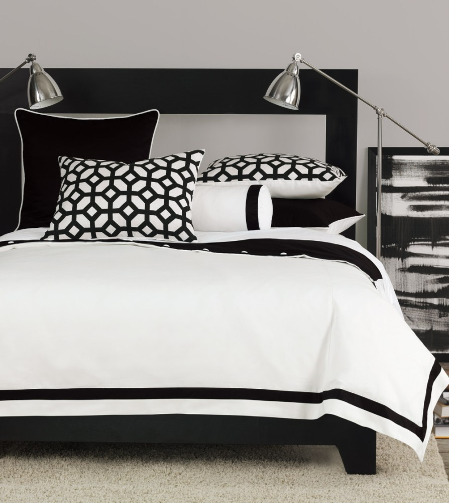 Black And White Chevron Comforter Set