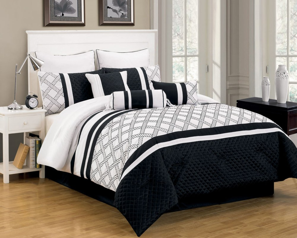Black And White Comforter Set Walmart