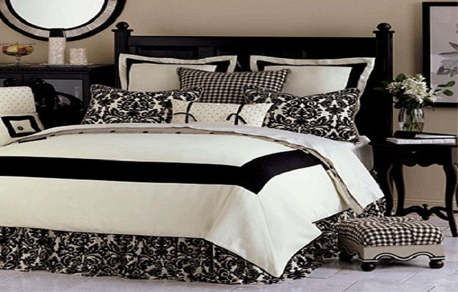 Black And White Comforter Sets Full