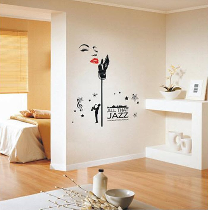 Black And White Decals For Walls