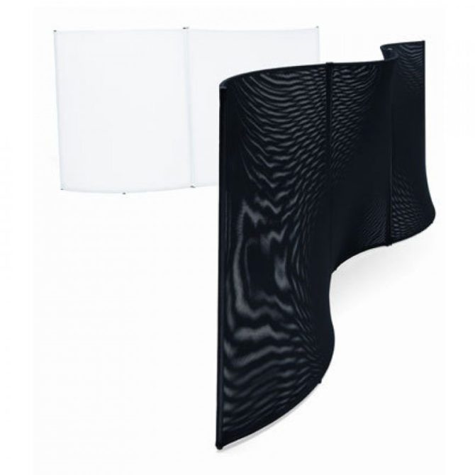 Black And White Room Divider
