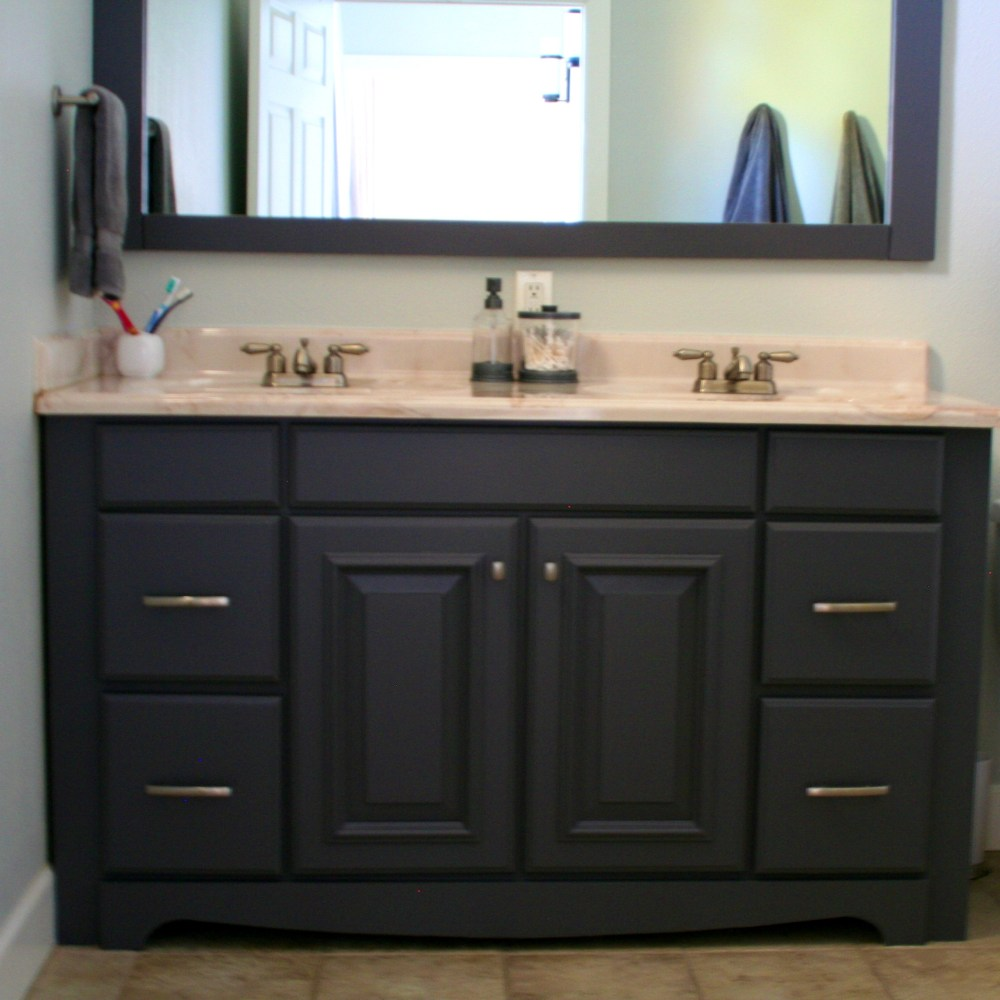 Black Bathroom Cabinets Ideas