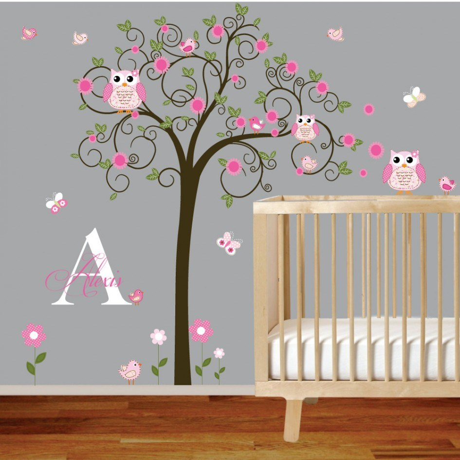 Black Cherry Blossom Wall Decal