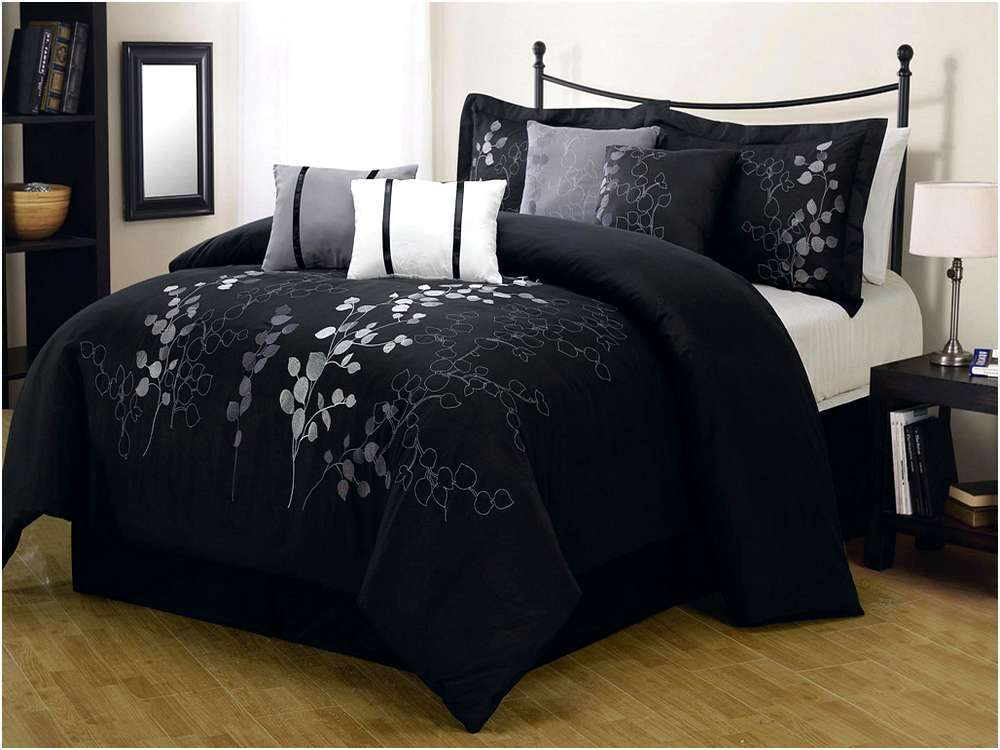 Black Comforter Sets King