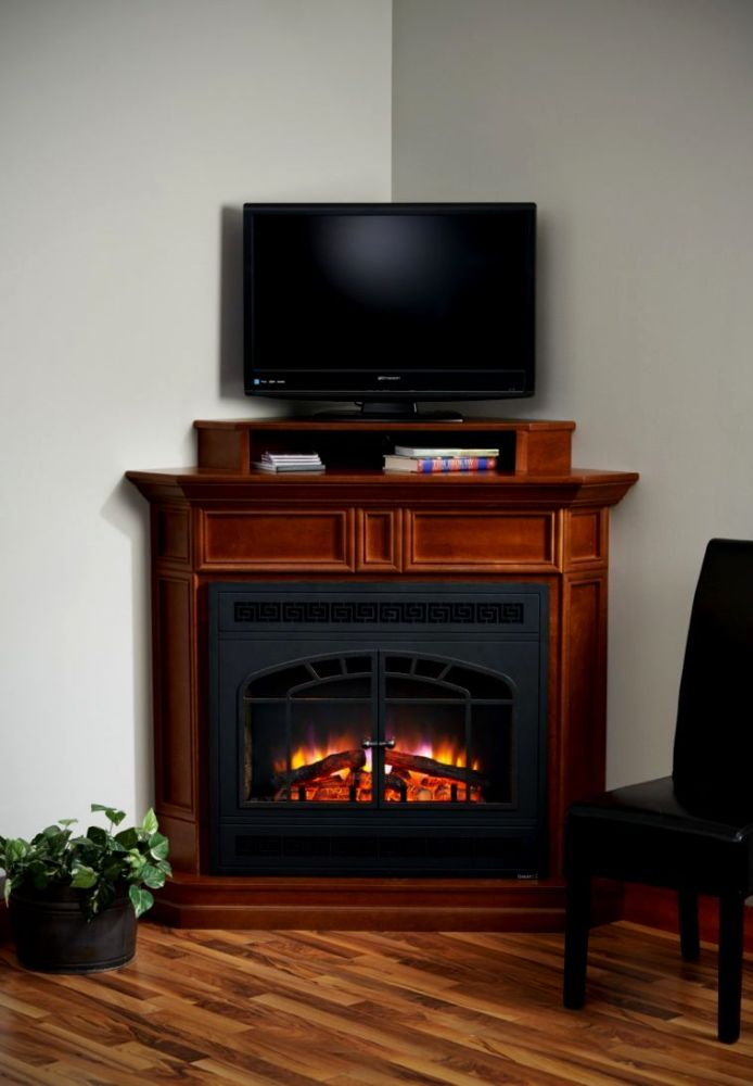 Black Electric Fireplace Tv Stand For Sale