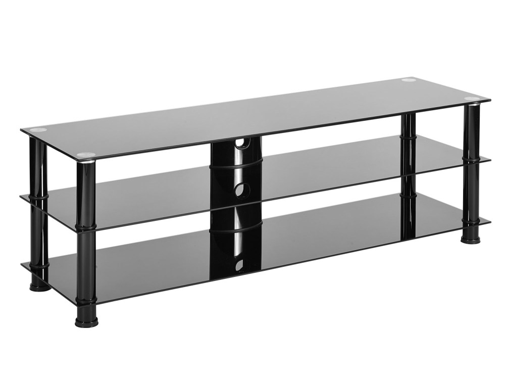 Black Glass Tv Stand 60 Inch