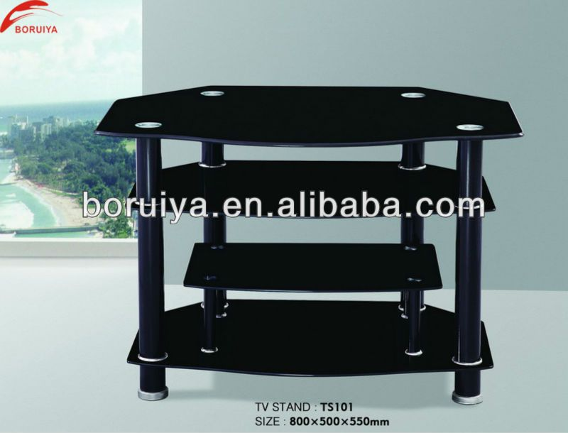 Black Lacquer Tv Stand Furniture