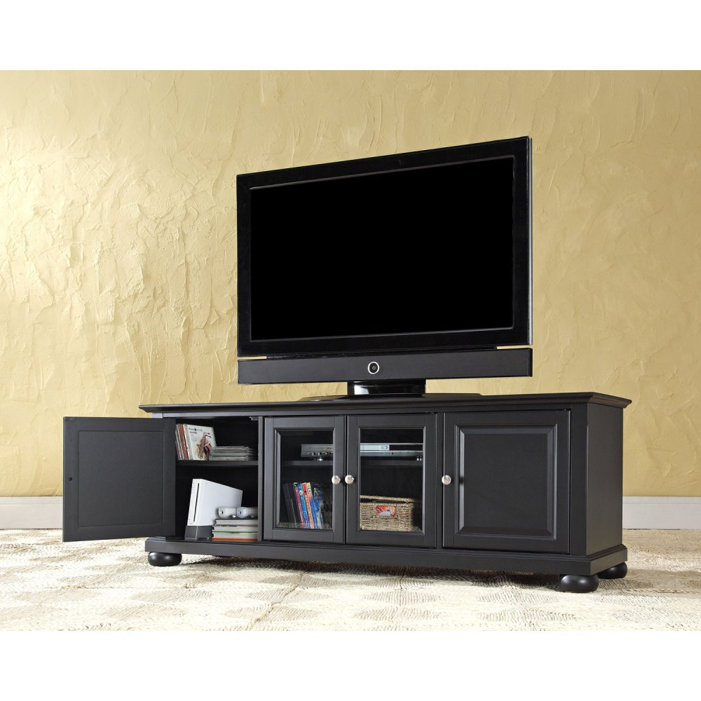 Black Low Profile Tv Stand