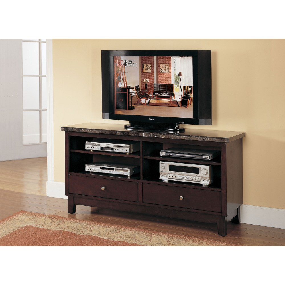 Black Marble Tv Stand