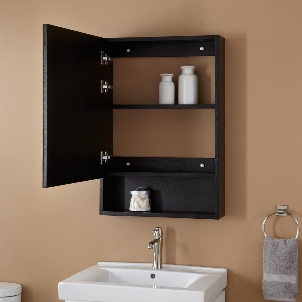 Black Medicine Cabinets For Bathroom