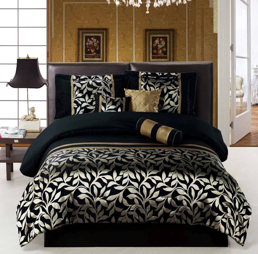 Black Queen Comforter Set